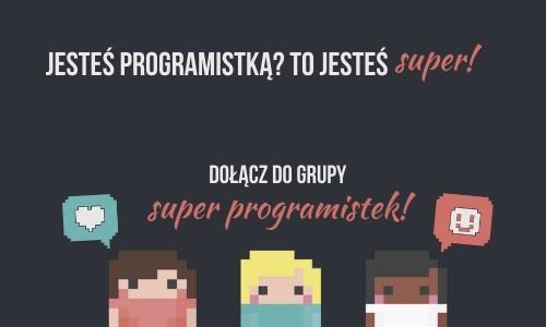 Dołącz do grupy Super Programistek!